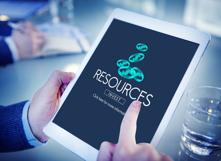 raw material: Resources Raw Material Environmental Context Concept Stock Photo