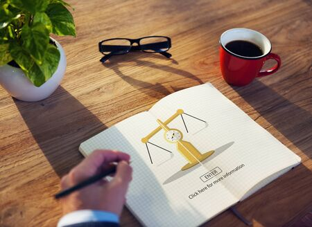weighing scale: Law Judge Weighing Scale Legal Concept