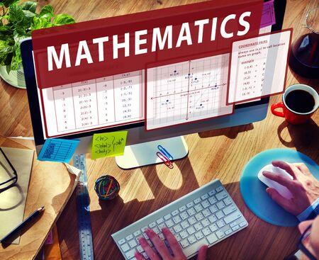 calculate: Mathematics Equation Calculate Algebra Function Concept