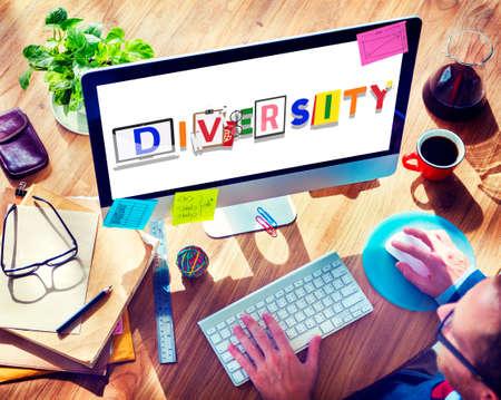 ethnicity: Diversity Different Ethnicity Race Global Concept