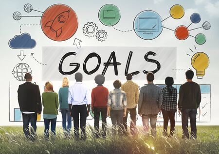 goal oriented: Goals Data Mission Target Aspiration Concept