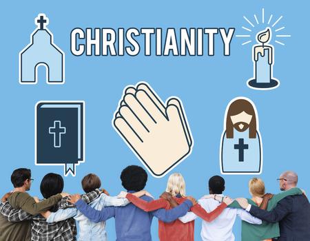 kruzifix: Christiannity Church Cross Crucifix Faith Religion Concept