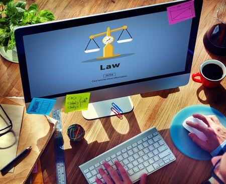 norms: Law Legal Control Court Regulations Control Concept