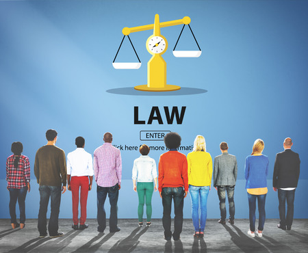 lawman: Law Judgement Rights Weighing Legal Concept
