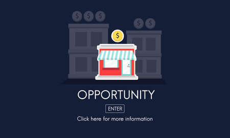 growing partnership: Opportunity Launch Startup New Business Concept Stock Photo