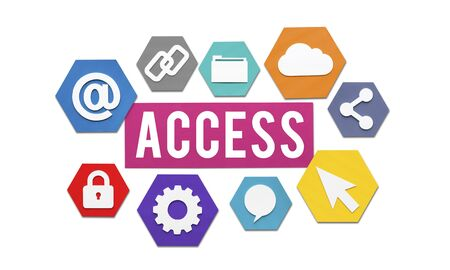 approachable: Access Available Usable Accessability Concept Stock Photo