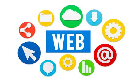 browsing the internet: Web Website Browsing Internet Online Concept