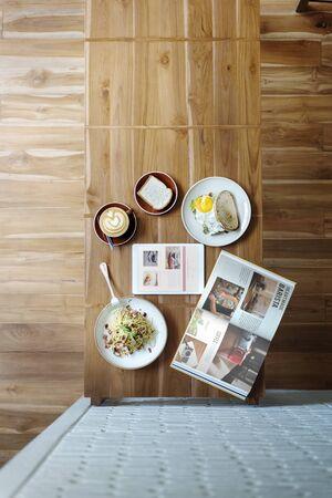 kulinarne: Breakfast Coffee Contemporary Culinary Energy Concept
