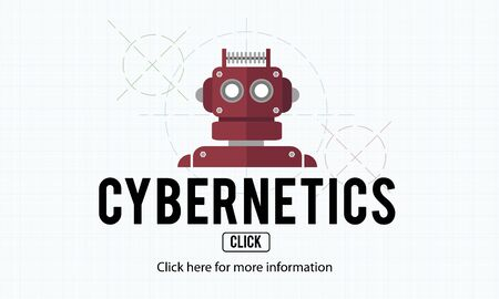 cybernetic: Cybernetic Factory Industry Intelligence Machinery Concept
