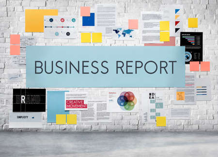 Business Report News Article Research Resulting Concept