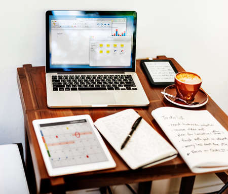 home office: Home Office Workspace Place of Work Concept