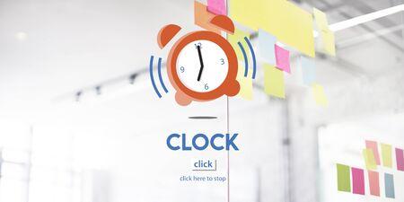 deadline: Time Alarm Deadline Countdown Concept Stock Photo