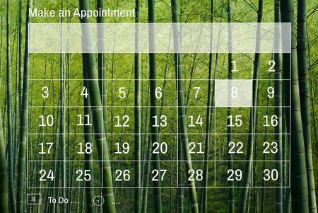 sch: Calendar Reminder Priority Note Date Concept