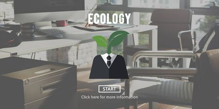 office environment: Ecology Environment Conservation Earth Concept