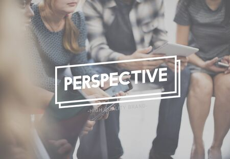 standpoint: Perspective Angle Attitude Position Viewpoint View Concept