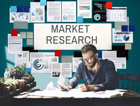 demographics: Market Research Consumer Information Needs Concept