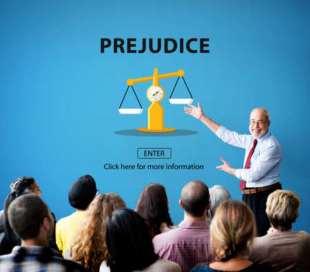 prejudice: Partiality Prejudice Unfairness Help Victims Bias Concept