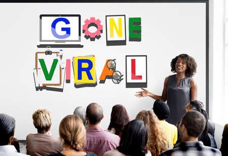 trainee: Gone Viral Views Popular Trending Concept