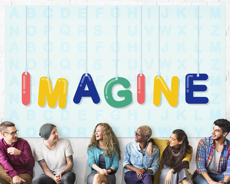 Imagine Creative Ideas Thinking Vision Dream Concept