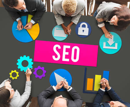 search engine optimization: Seo Search Engine Optimization Searching Concept Stock Photo