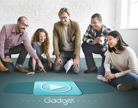 media gadget: Gadget Device Media Mobility Object Tablet Concept
