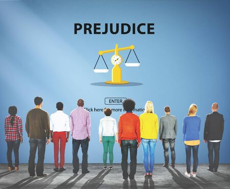 prejudice: Partiality Prejudice Unfairness Help Victims Bias Concept