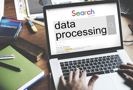 Online search for data processing