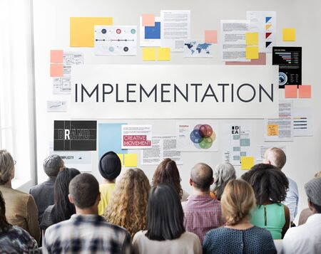 perform: Implementation Accomplish Installing Perform Concept