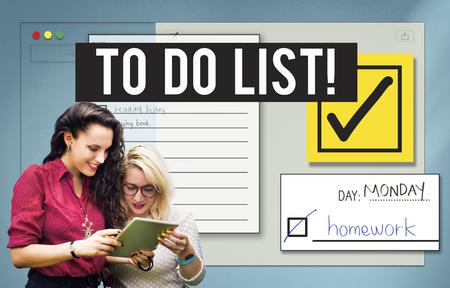 To Do List Time Management Reminder Pritize Concept