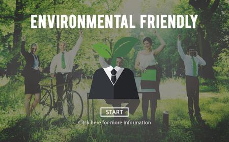 environmentalist: Environmental Friendly Business Suit Concept Stock Photo