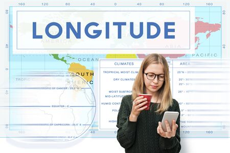 Longtitude Latitude World Cartography Concept Stock Photo, Picture And Royalty Free Image. Image 58208137. - 웹
