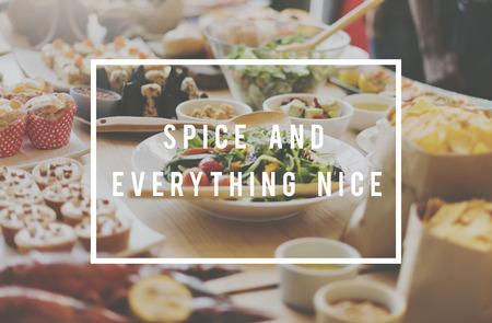 nice food: Специи и все хорошо Концепция еды