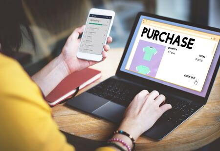 obtain: Purchase Buying Commerce Obtain Shopping Concept
