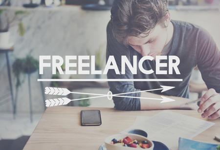 gig: Freelance Work Extra Gig Concept