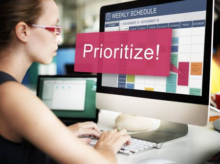 rank: Prioritize Effectivity Focus Order Rank Tasks Urgent Concept