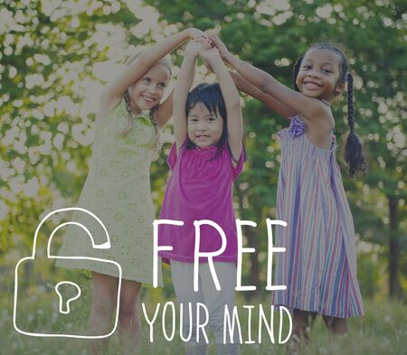 free your mind: Free Your Mind Awareness Attitude Concept