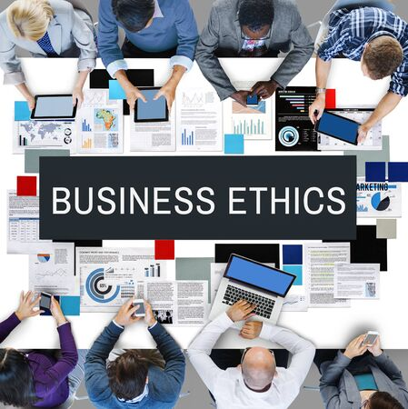 insider information: Business Ethics Honesty Integrity Concept