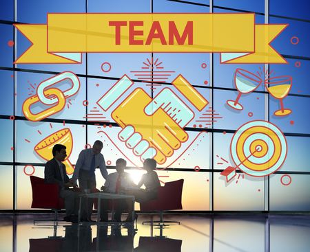 concpet: Team Teamwork Partnership Collaboration Concpet