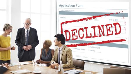 disagreement: Declined Rejected Disagreement Rejection Concept