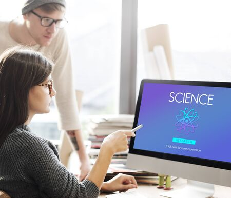 subject: Science Education Experimental Innovation Subject Concept Stock Photo