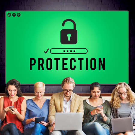 confidentiality: Protection Confidentiality Insurance Privacy Concept