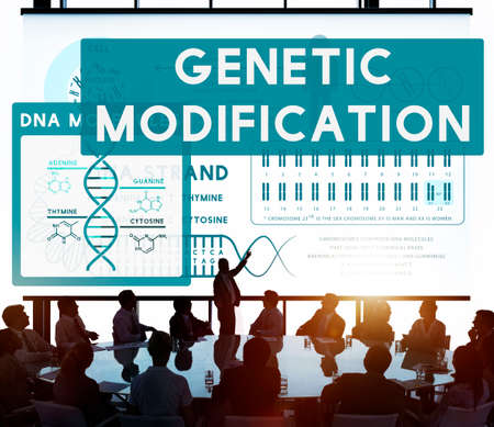 nucleotides: Genetic Mutation Modification Biology Chemistry Concept