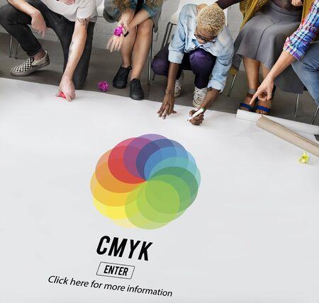 color model: CMYK Color Emblem Symbol Concept