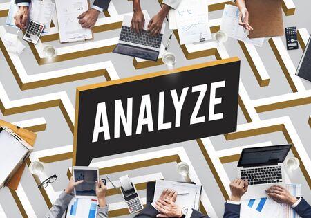 analyze: Challenge Analyze Complicated Maze Concept