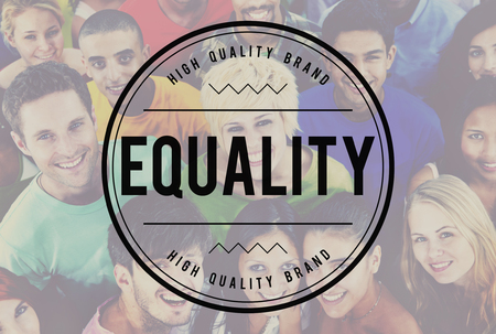 parity: Equality Fair Parity Respect Balance Equal Fairness Concept Stock Photo