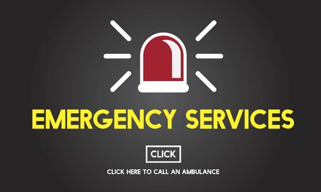 emergency services: Emergency Services Accidental Crisis Critical Risk Concept