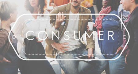 purchaser: Consumer Customer Service Satisfaction Shopper Concept