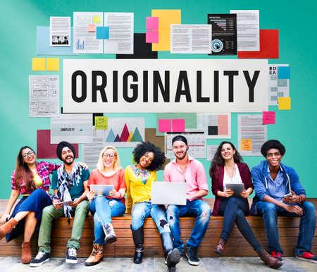 originality: Originality Innovation Intellectual Patent Unique Concept Stock Photo