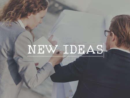 new ideas: New Ideas Plan Mission Success Concept