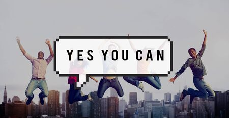 tu puedes: Sí se puede ganar Lograr Concept
